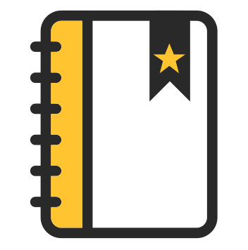 picture of a ringbound notepad